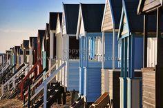 Thorpe Bay Beach Huts, Essex by AndyEvans