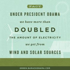 Support Obama wind & solar sources