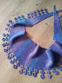 Falling Blossoms Scarf by Sybil Ramkin