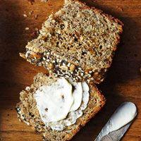 Here's a nice soda bread style recipe: Whole Grain Sunflower Bread