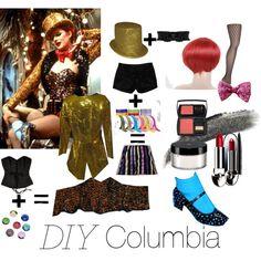 """DIY Halloween Columbia"" by ralyin on Polyvore"