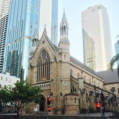 A random undiscovered never before seen church in Brisbane #cloud