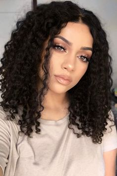 Curly hair always looks adorable, and we collected hairstyles for curly hair to prove you that. We are sure you will save many pics for later!  #curlyhair #curlyhairstyles #curlypixie #curlybob #curlylonghair