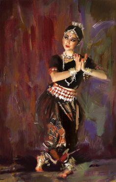 Painting by Maryam Mughal