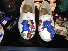 Disney TOMS tops  Ohana with Lilo and Stitch by Memesterchic, $80.00