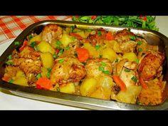 Bleskový obed z jednej misy: Vynikajúce jedlo bez kopy špinavého riadu! Salty Foods, Kung Pao Chicken, Potato Salad, Cauliflower, Food And Drink, Meat, Vegetables, Ethnic Recipes, Life