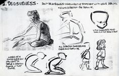 """Temple of the Seven Golden Camels: """"Dynamics of Animated Drawing"""" by Glen Keane"""