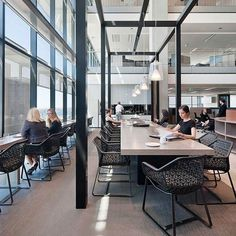 Kettal Maia collection @ Corrs Chambers Westgarth Architect: Bates Smart Consultant: Calder Consultants  Project Manager: Mirvac Type: Office Location: Sydney #corporate #interiordesign #office #outdoor #maia #sydney #urquiola #kettal #type #furniture