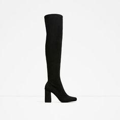 ZARA - WOMAN - STRETCH LEG HIGH HEEL BOOTS