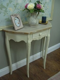 Lovely Half Moon Hall Table