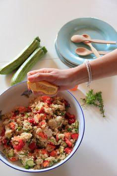 Insalata di cous cous e verdure