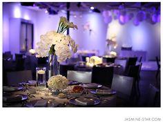 Seven Degrees Wedding : Jami + Joel    Color balance perfection.  Violetas y Cartuchos.