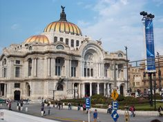 Bellas Artes. Beaux Arts.  Does not get any better than this. Mexico City.