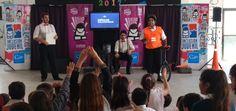 Espectáculos de circo y teatro en jardines de infantes de Mar de Ajó - Noticias