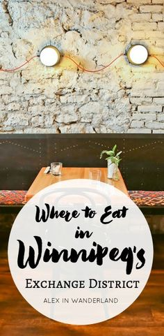 "Called Canada's ""most overlooked food destination"" by Air Canada, Winnipeg's food scene is having a moment. Much of it is happening in The Exchange District, home to the city's highest concentration o Visit Canada, Lake Winnipeg, Delicious Destinations, Stuff To Do, Things To Do, Canada Destinations, Canadian Travel, Vacation Trips, Cafes"