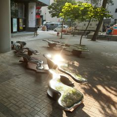 Public art benches in Honk Kong