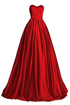 35d202412a2 online shopping for Topdress Women s Sweetheart Prom Dress Satin Long  Evening Dress Train from top store. See new offer for Topdress Women s  Sweetheart Prom ...