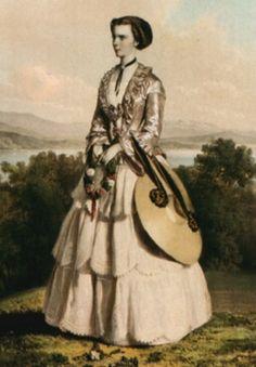 Kaiserin Elisabeth 1855.