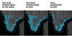 Bill de Blasio: My New Plan to Climate-Proof Lower Manhattan stormsurge Bill De Blasio, Storm Surge, Big Oil, East River, Hurricane Sandy, Lower Manhattan, High Tide, Smart Water