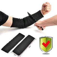 Revco Industries BX-KK-18T BSX Double Layer, Cut Resistant Kevlar Sleeves, 18-Inch, Black