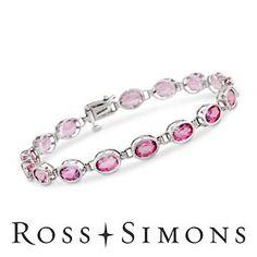 Pink Topaz #Bracelet