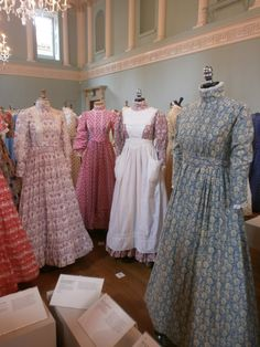 Recent Laura Ashley exhibition at Baths Fashion Museum