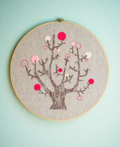 New! 4 Seasons of Embroidery from Purl Soho + EggPress - Knitting Crochet Sewing Crafts Patterns and Ideas! - the purl bee