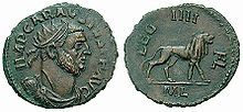 Marcus Aurelius Mausaeus Valerius Carausius-- (died 293) was a military commander of the Roman Empire in the 3rd century. He was a Menapian from Belgic Gaul,[1] who usurped power in 286, during the Carausian Revolt, declaring himself emperor in Britain & northern Gaul. He did this only 13 years after the Gallic Empire of the Batavian Postumus was ended in 273. He held power for seven years, before being assassinated by his finance minister Allectus.