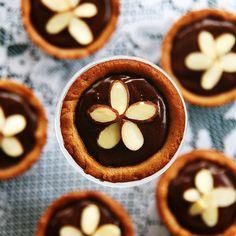 Chocolate Peanut Butter Cookie Tartelettes