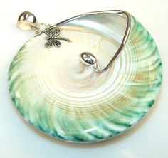 $68.25 Massive Marvelous Ocean Shell Sterling Silver Pendant at www.SilverRushStyle.com #pendant #handmade #jewelry #silver #shell