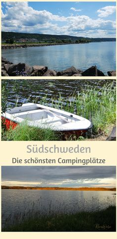 Camping Holidays in Southern Sweden – The Most Beautiful Campsites – – # Campsites … - Van Life Clear Lake, Archipelago, Campsite, Outdoor Camping, Van Life, Touring, Places To See, Sweden, Travel Destinations