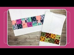 How to Sew Patchwork to Hand/Kitchen Towel with Crafty Gemini Sewing Tutorials, Sewing Crafts, Sewing Projects, Video Tutorials, Sewing Ideas, Free Tutorials, Diy Videos, Craft Videos, Crafty Gemini