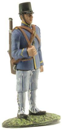 Soldado del Regimiento de Caballería Dragones de Santiago Nº 9, Ej. Español 1909, 1:32, Altaya