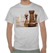 Chess pieces on the board Castle tee shirt t-shirt