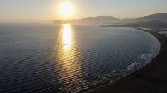 Good evening from Caretta Caretta maternity home - #Iztuzu Beach near town of #Dalyan :-)