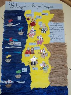 International Day, School Projects, Social Studies, Brazil, Around The Worlds, Teaching, Maps, History Activities, Countries