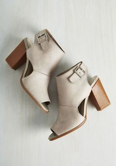 Cute little peep toe booties LOVE