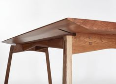 Dining Table no.3 by Hugh Miller. Part of 'An Absence of Noise' Collection. Hugh Miller Studio Furniture.