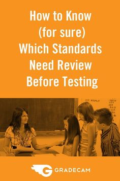 A teacher shares her secret to using Standards Reports to target student review before a unit test.