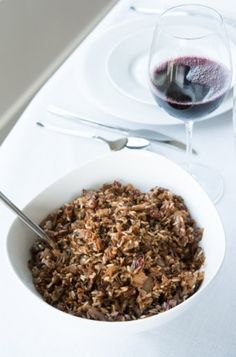 Mushroom Wild Rice Stuffing Recipe   Healthy Recipes   Good Decisions