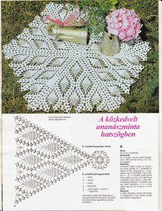 Kira scheme crochet: Scheme crochet no. 2394