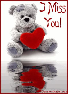 """Wish your sweetie a happy anniversary with this adorable animated graphic. The picture shows a cute teddy bear holding a red heart reflected in an animated pool. The comment reads """"Happy Anniversary! Happy Anniversary Quotes, Happy Birthday Quotes, Birthday Wishes, Birthday Memes, Birthday Messages, Teddy Bear Images, Teddy Bear Pictures, Teddy Bear Hug, Cute Teddy Bears"""