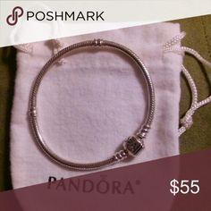 Pandora Classic Snake Charm Bracelet Pandora Classic Snake Charm Bracelet Pandora Jewelry Bracelets