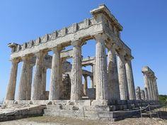 Aphaia may have been a fairly obscure Greek goddess, but the temple built to her, around 500BC, on the island of Aegina is magnificent and well preserved.