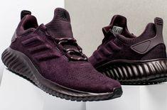 Purple Suede Covers The adidas AlphaBounce • KicksOnFire.com