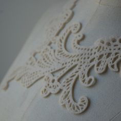 Rachel Clowes - laser cut necklace made from recycled PET