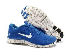 Barato Nike Free 5.0 Hombres Blanco Azul Oscuro Zapatillas y Nike Gratis 3 Baratas Se encuentran en zapatoscheap.com