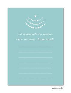 Antwortkarte Hochzeit | Herzranke