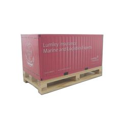 Lumley Insurance Shipping Crate NotePad