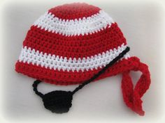 Pirate Set by wittcreations on Etsy, $20.00